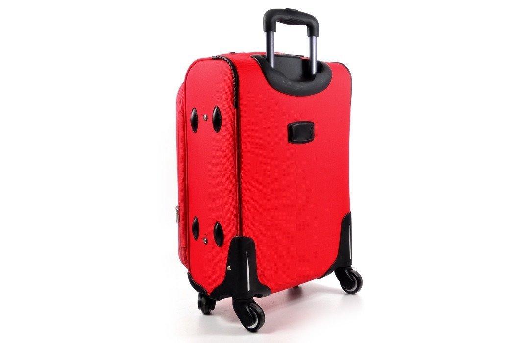 fb919cf5a13a3 Walizka ORMI czerwona ŚREDNIA torba podróżna