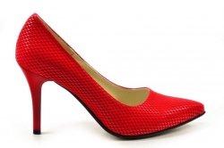 Czółenka 37 szpilki Victoria DEEX 419 czerwone