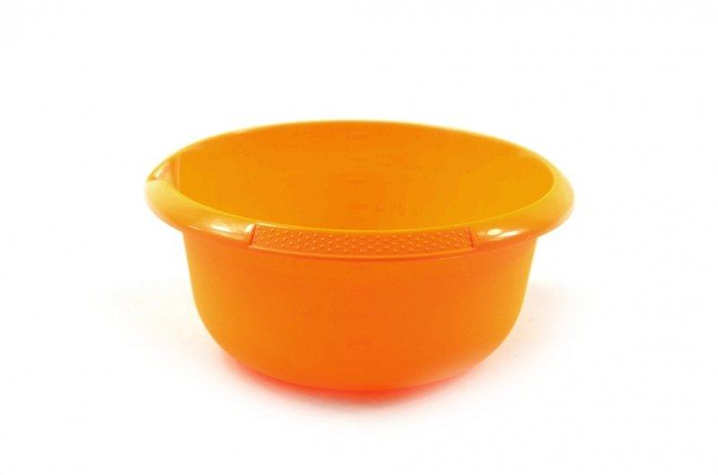 Okrągła miska z miarką pomarańczowa 1.25L OKT