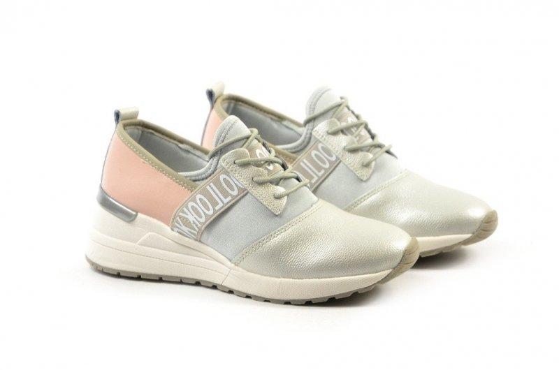 Półbuty 38 sneakersy VINCEZA 8686 srebrne