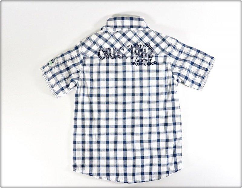 Blue Seven Koszula 104 krata niebieska WYPRZEDAŻ