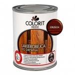 Colorit Lakierobejca Drewna 0,75L ORZECH szybkoschnąca satynowa farba do