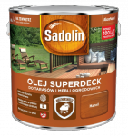 Sadolin Superdeck olej 5L MAHOŃ 75 tarasów drewna do