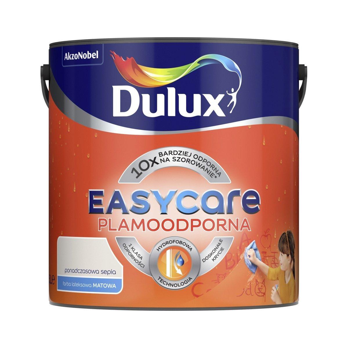 Dulux Easy Care 2 5l Ponadczasowa Sepia Plamoodporna Matowa Farba