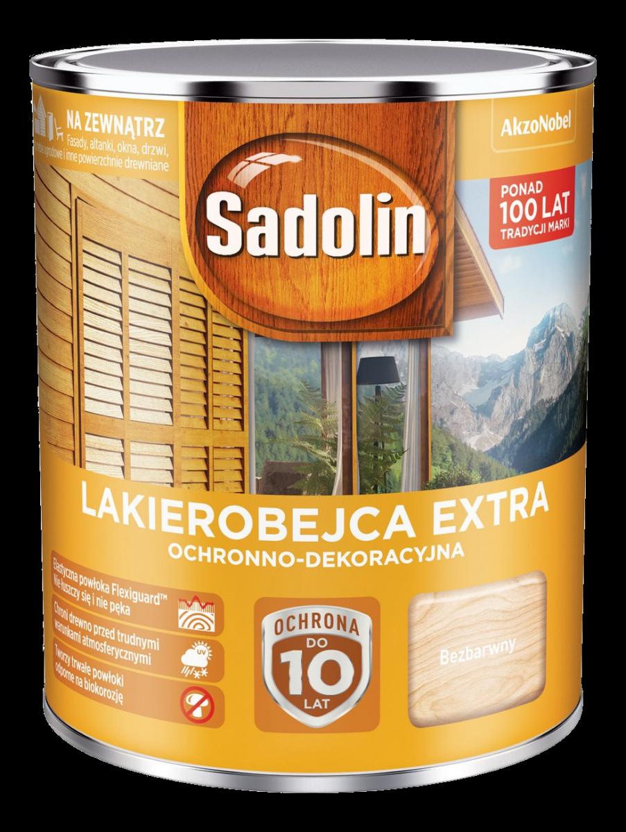 Sadolin Extra Lakierobejca 075l Bezbarwny 1 Drewna