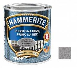 Hammerite Na Rdzę 0,7L SREBRNO-SZARY MŁOTKOWY hamerite farba