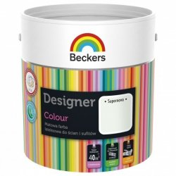 Beckers 2,5L SUPERNOVA Designer Colour farba lateksowa