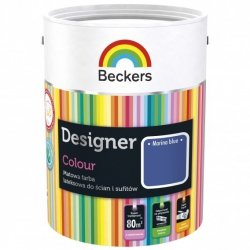 Beckers 2,5L MARINA BLUE Designer Colour farba lateksowa