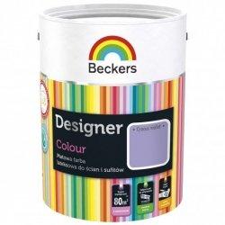 Beckers 5L CROCUS VIOLET Designer Colour farba lateksowa