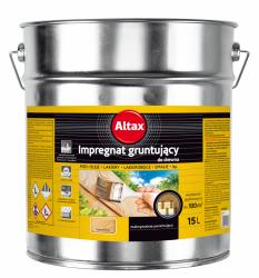 Penetrin Impregnat Gruntujący Drewna 15L Altax podkład