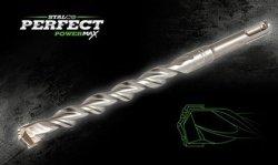 Wiertło 10x210 do betonu SDS PLUS + STALCO PERFECT POWERMAX