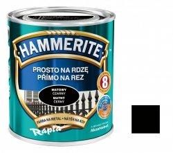 Hammerite Na Rdzę 0,7L CZARNY MAT hamerite farba czarna