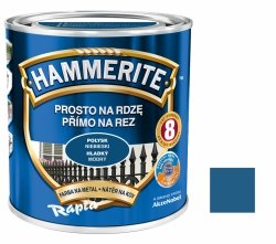 Hammerite Na Rdzę 2,5L NIEBIESKI POŁYSK hamerite farba