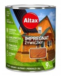 Altax Impregnat 0,75L TIK Żywiczny Drewna Szybkoschnący