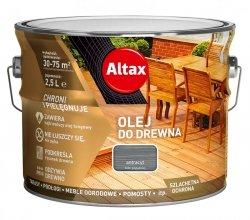 Altax olej do drewna 2,5L ANTRACYT tarasów