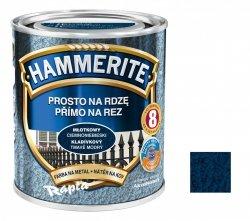 Hammerite Na Rdzę 0,7L CIEMNONIEBIESKI MŁOTKOWY hamerite farba