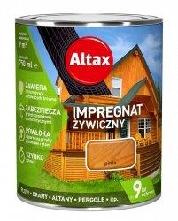 Altax Impregnat 0,75L PINIA Żywiczny Drewna Szybkoschnący