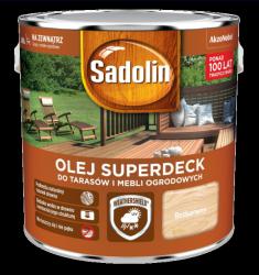 Sadolin Superdeck olej 10L BEZBARWNY 1 tarasów drewna do