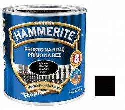 Hammerite Na Rdzę 0,7L CZARNY POŁYSK hamerite farba czarna