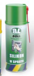 BOLL Silikon Spray 400ml Smarowanie Uszczelek Gumy Zamków