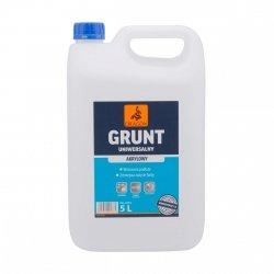 Uni-Grunt Akrylowy Uniwersalny 5L mleczko Dragon gruntujące do wewnątrz i na zewnątrz