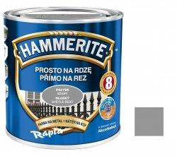 Hammerite Na Rdzę 0,7L SZARY POŁYSK hamerite farba