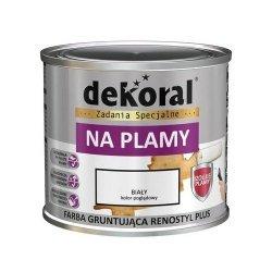 Dekoral Plamy Zacieki 0,4L farba Renostyl Plus na podkład