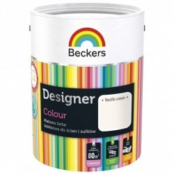 Beckers 2,5L VANILLA CREAM Designer Colour farba lateksowa