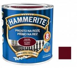 Hammerite Na Rdzę 2,5L WIŚNIOWY POŁYSK hamerite farba