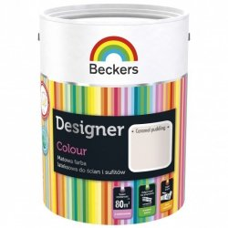 Beckers 2,5L CARAMEL PUDDING Designer Colour farba lateksowa