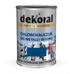 Dekoral Chlorokauczuk 0,9L NIEBIESKI CHAGALL RAL5010 farba emalia