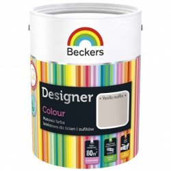 Beckers 2,5L VANILLA MUFFIN Designer Colour farba lateksowa