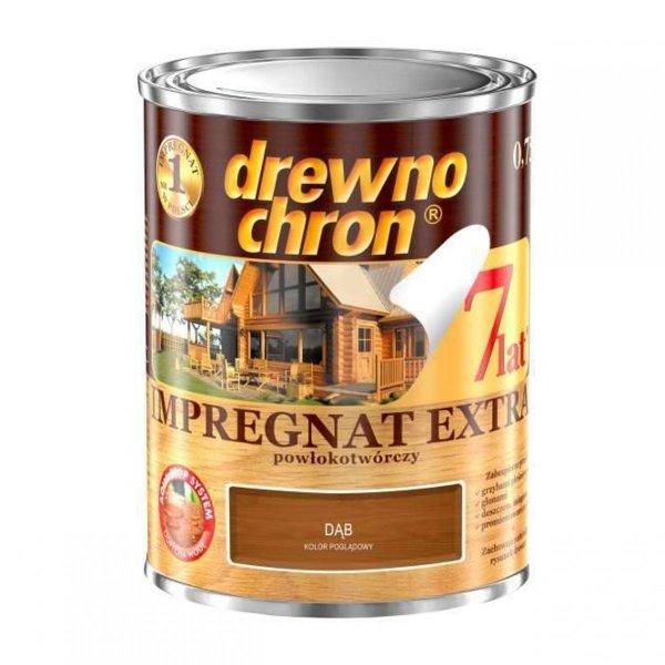 Drewnochron DĄB 0,75L Impregnat Extra drewna do powłokotwórczy