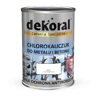 Dekoral Chlorokauczuk 10L BIAŁY RAL9003 farba emalia