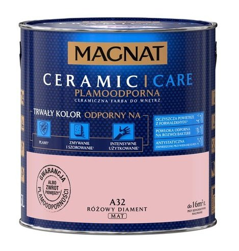 MAGNAT Ceramic Care 2,5L A32 Różowy Diament