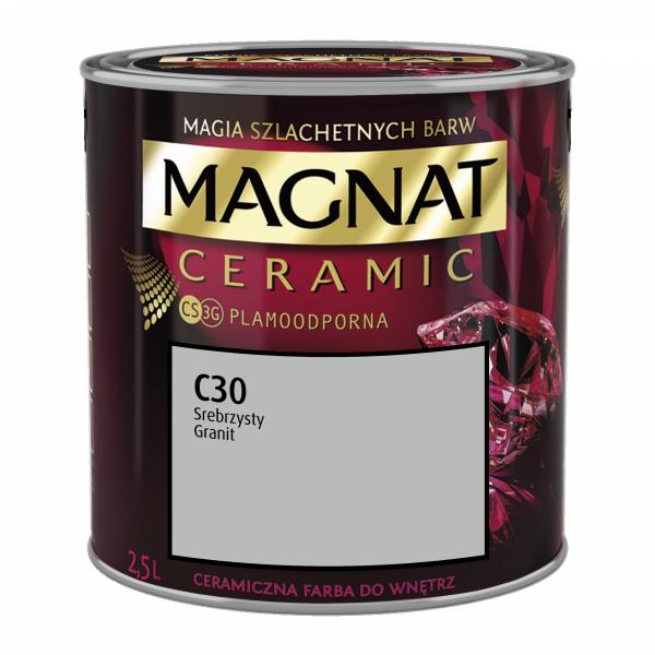 MAGNAT Ceramic 2,5L C30 Srebrzysty Granit