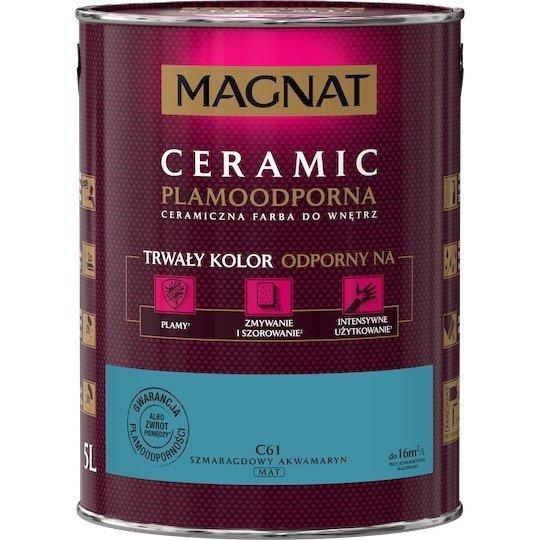 MAGNAT Ceramic 5L C61 Szmaragdowy Akwamaryn