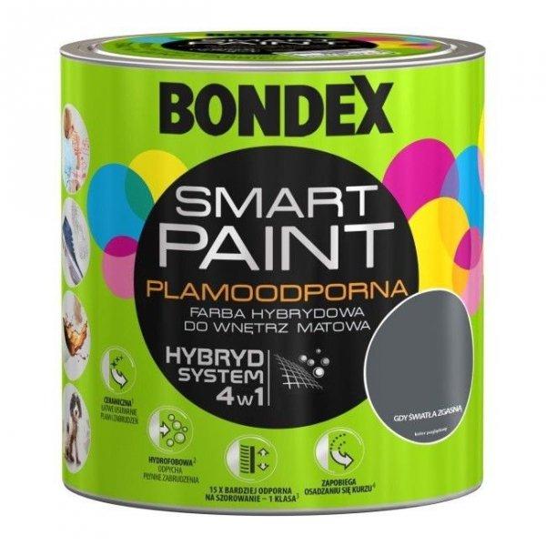 Bondex Smart Paint 2,5L GDY ŚWIATŁA ZGASNĄ
