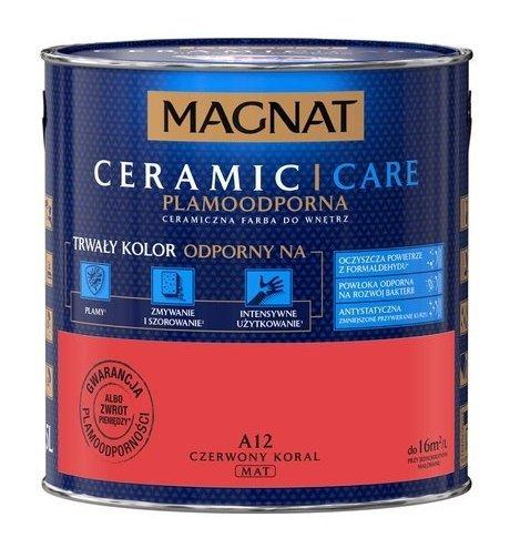 MAGNAT Ceramic Care 2,5L A12 Czerwony Koral