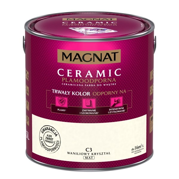 MAGNAT Ceramic 2,5L C3 Waniliowy Kryształ