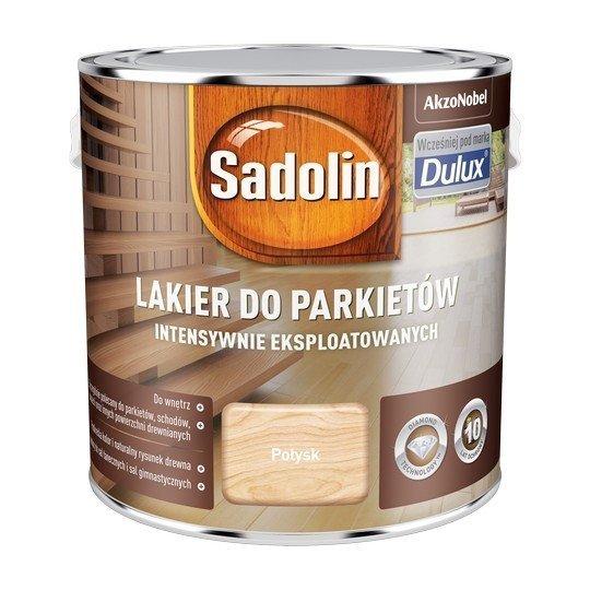 Sadolin Lakier Diamond POŁYSK 2,5L parkietu Dulux drewna intensywnie eksploatowanych