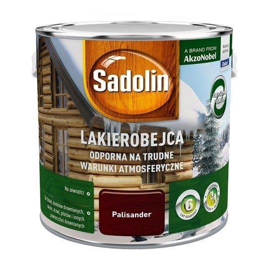 Sadolin Odporna lakierobejca 2,5L PALISANDER drewna