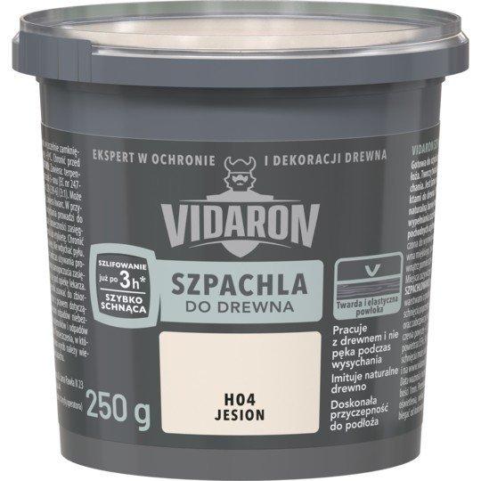 Vidaron Szpachla Drewna 0,25kg JESION H04 szpachlówka