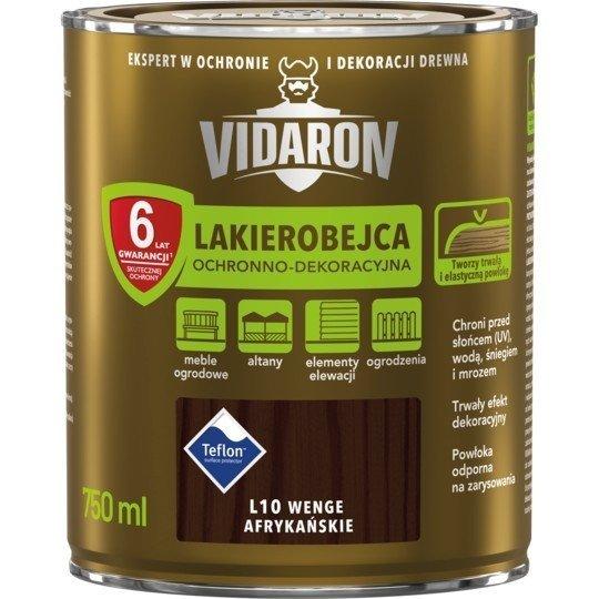 Vidaron Lakierobejca 0,75L L10 Wenge Afrykańskie do drewna