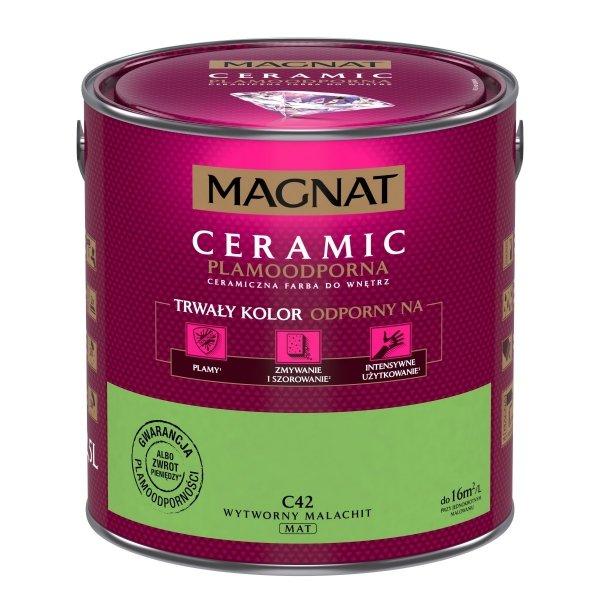 MAGNAT Ceramic 2,5L C42 Wytworny Malachit