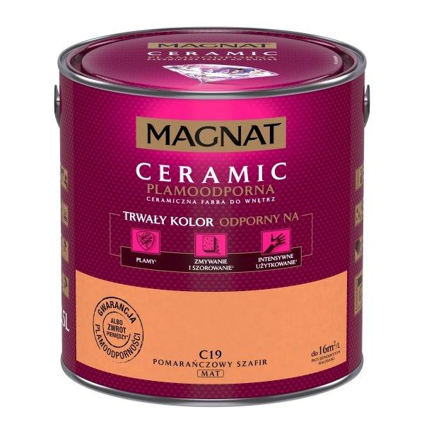 MAGNAT Ceramic 2,5L C19 Pomarańczowy Szafir