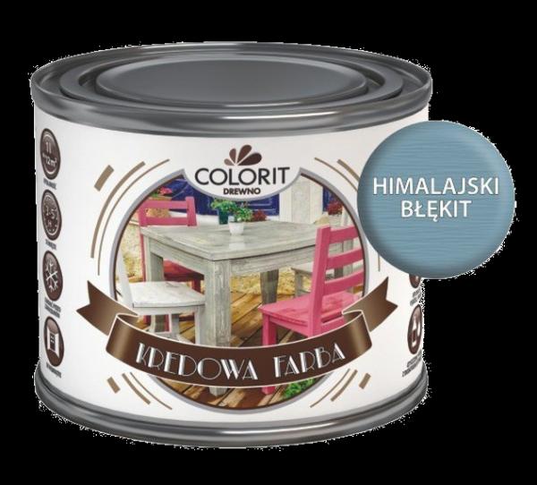 Colorit Kredowa Drewna 375ml HIMALAJSKI BŁĘKIT mebli farba do