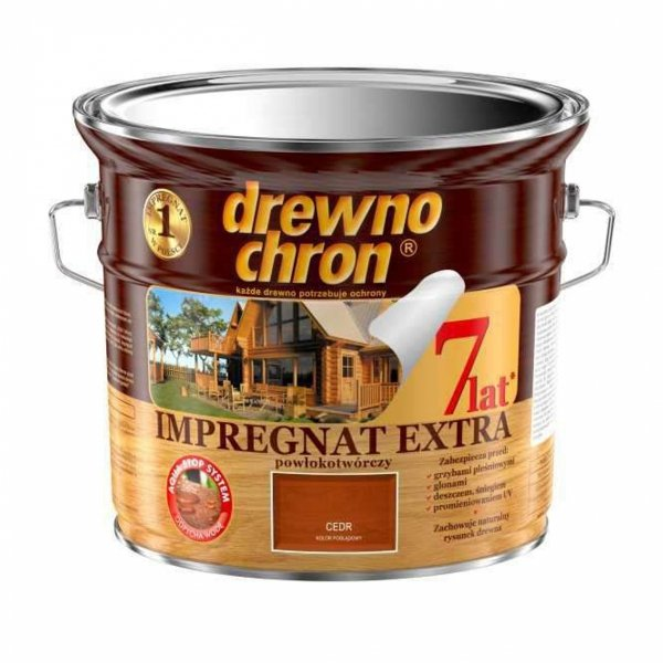Drewnochron CEDR 2,5L Impregnat Extra drewna do powłokotwórczy
