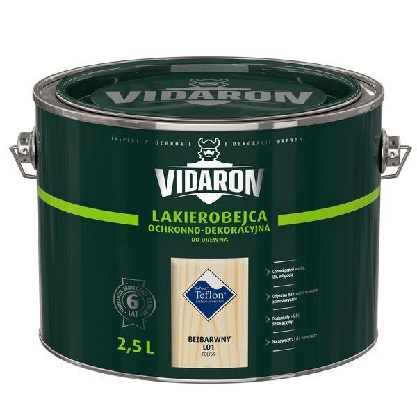 Vidaron Lakierobejca 2,5L L01 Bezbarwny do drewna