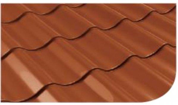 Śnieżka na dach farba Ceglany 0,75L RAL 8004 ceglasty